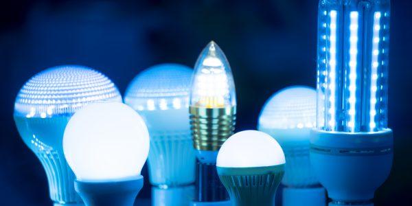 Marketing Bild von hergestellten LED-Lampen, welche mit einem Firmenkredit finanziert wurde