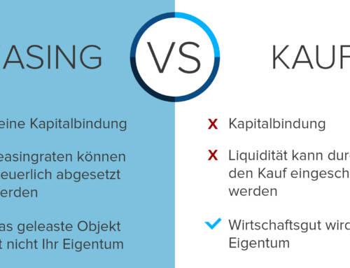 Leasing vs. Kauf im Vergleich