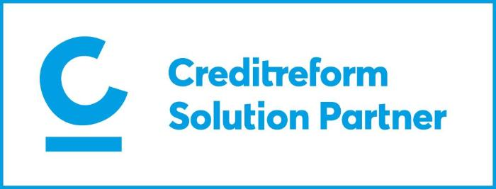 Creditreform Solution Partner Logo
