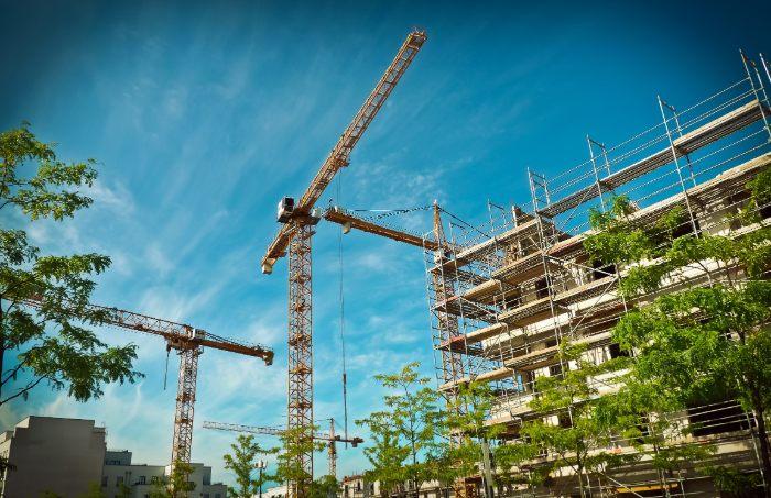 Bau von Gewerbeimmobilien