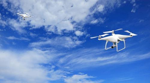 Drohne in der Logistik