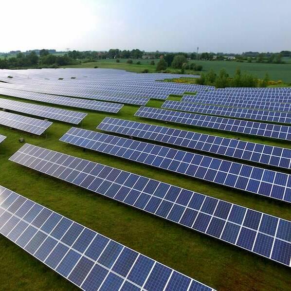 Solarpanel für höhere Effizienz in der Landwirtschaft