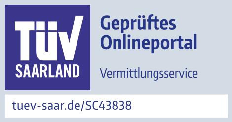 TÜV Saarland Prüfzeichen FinCompare