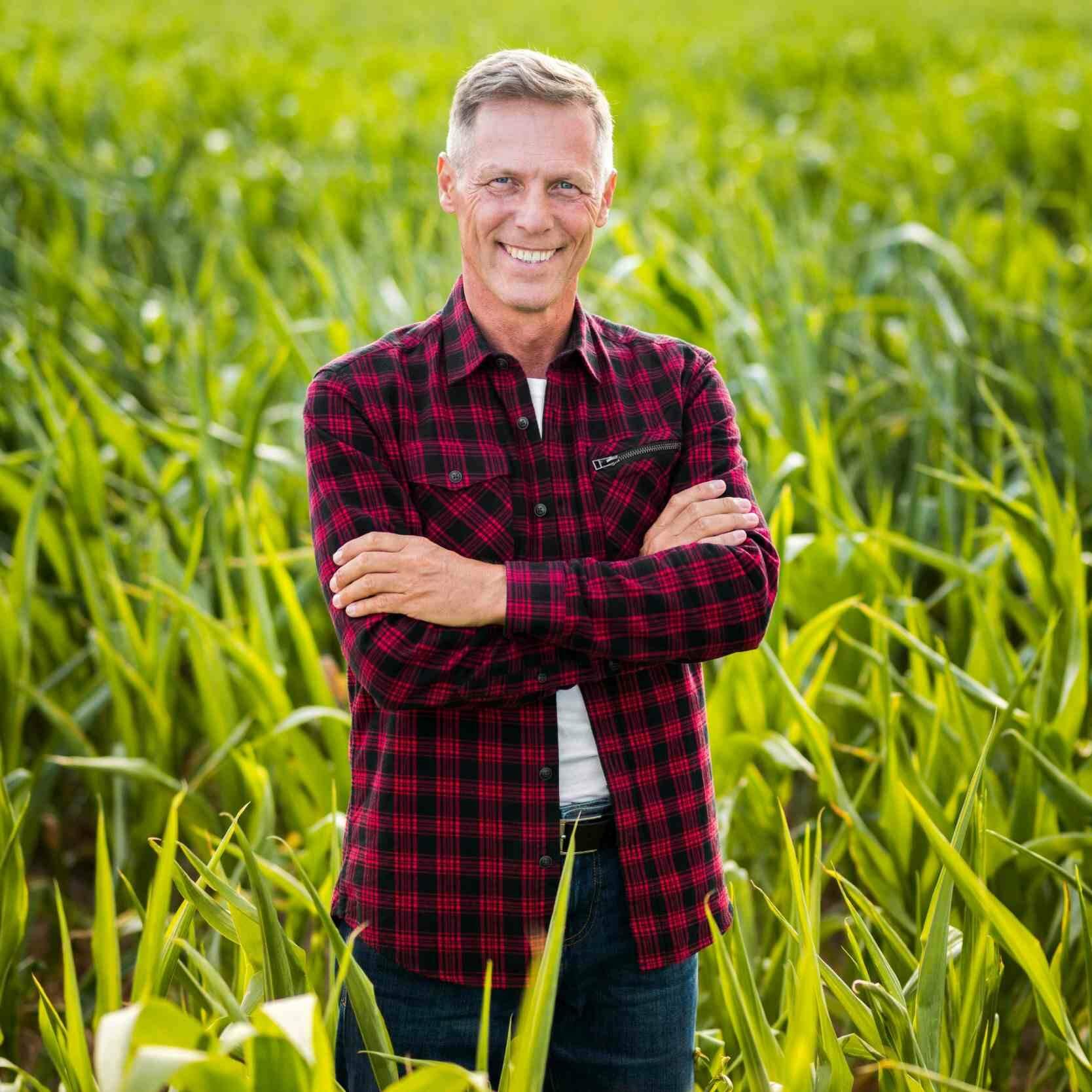 Landwirt hat Firmenkredit über FinCompare erhalten