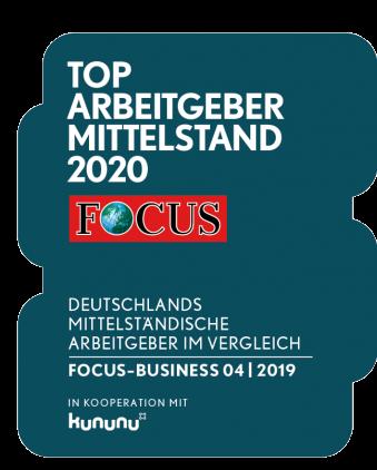 Top Arbeitgeber Mittelstand FOCUS 2020 FinCompare