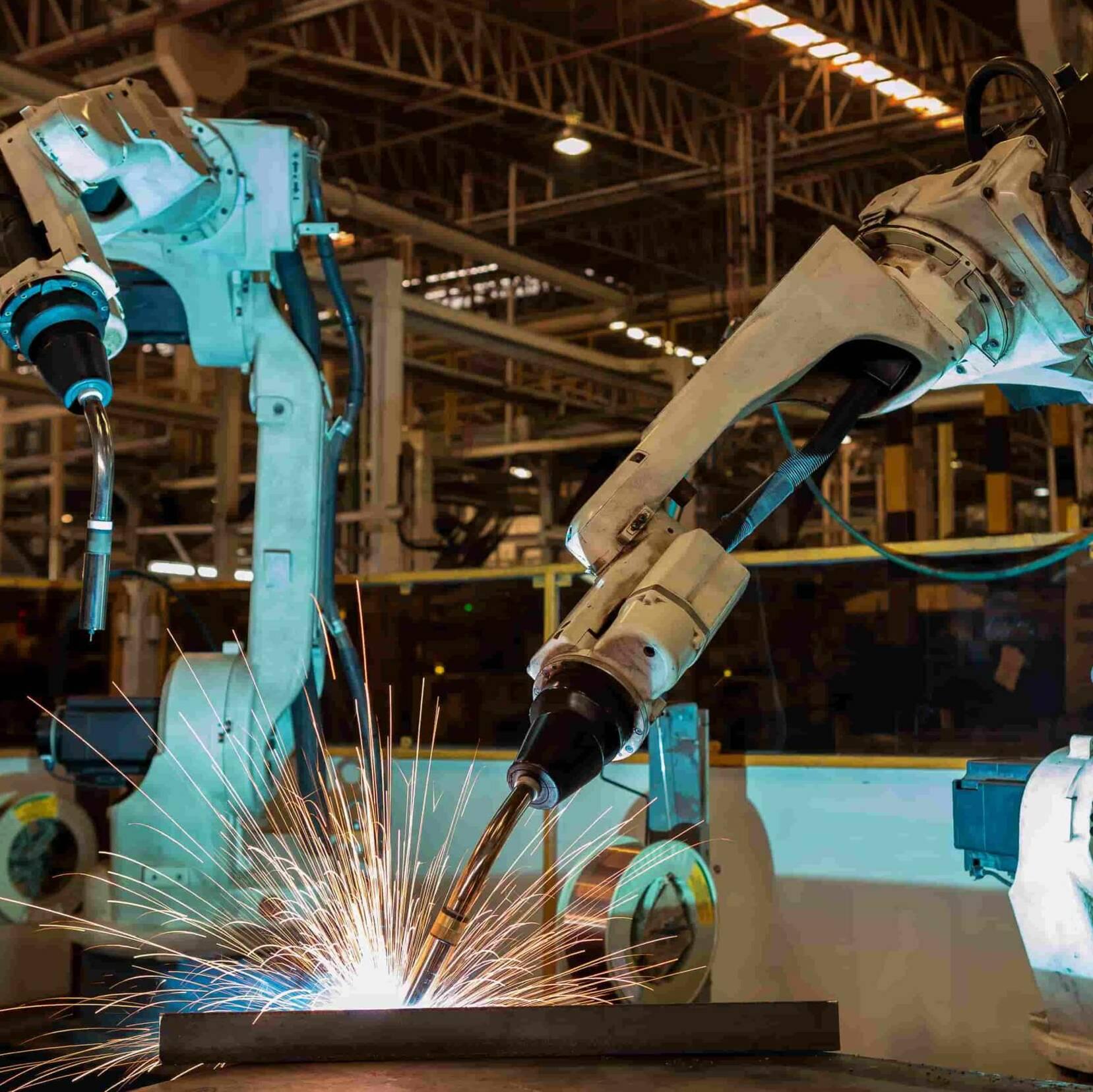 Maschinenleasing Fertigungsroboter