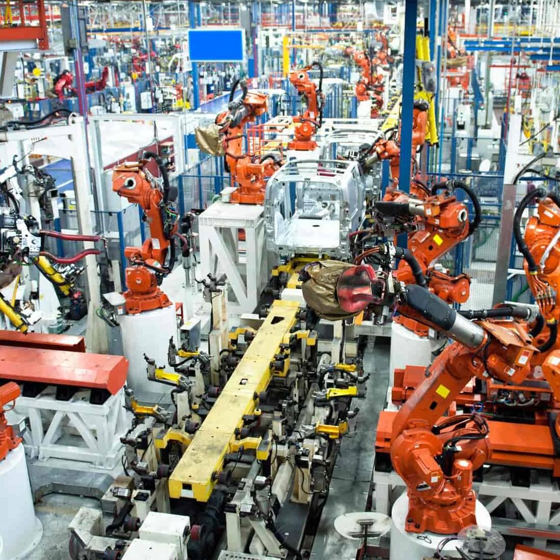 Maschinenleasing Fertigungsanlagen